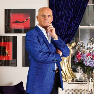 Roja Dove at home in Mayfair
