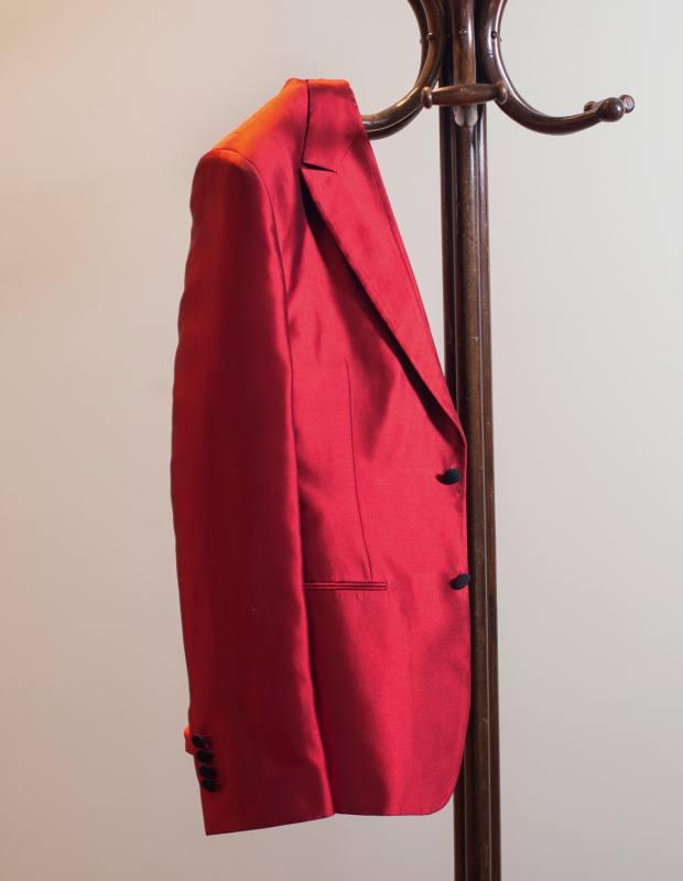 Gabbana's mikado silk jacket