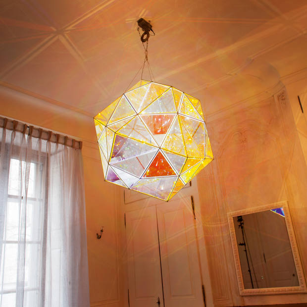 Duo-Colour Double Polyhedron Lamp, 2011, by Olafur Eliasson, similar works £80,000-£100,000