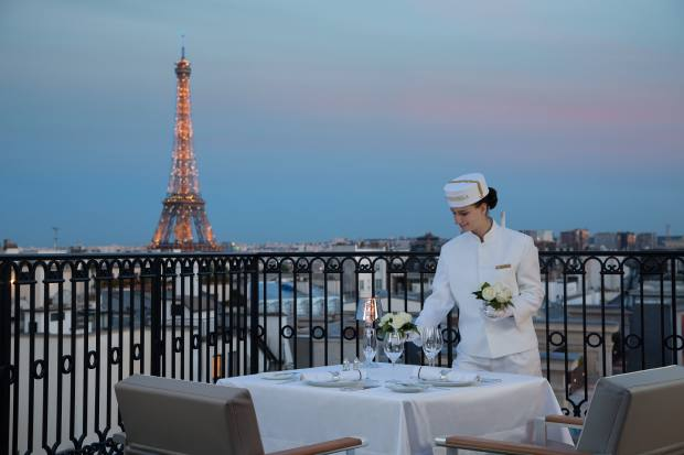 Secret Table is offering a special butler service for executive chef Christophe Raoux's romantic dinners