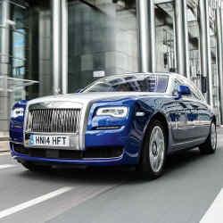 The Rolls-Royce Ghost Series II