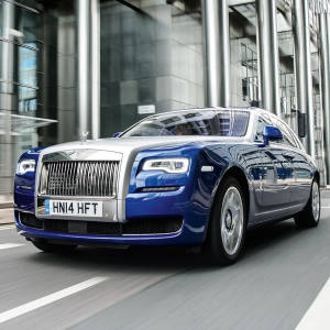 The Rolls-Royce Ghost Series II