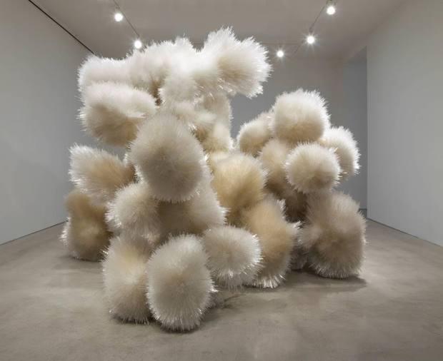 Untitled, 2014, by Tara Donovan
