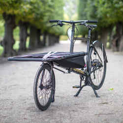 The Omnium Cargo, about £2,045 – one of four bikes owned by product designer Øivind Slaatto
