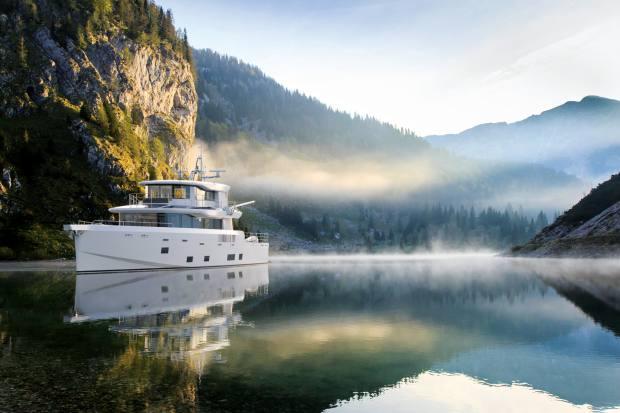 Arksen 85 Explorer boat