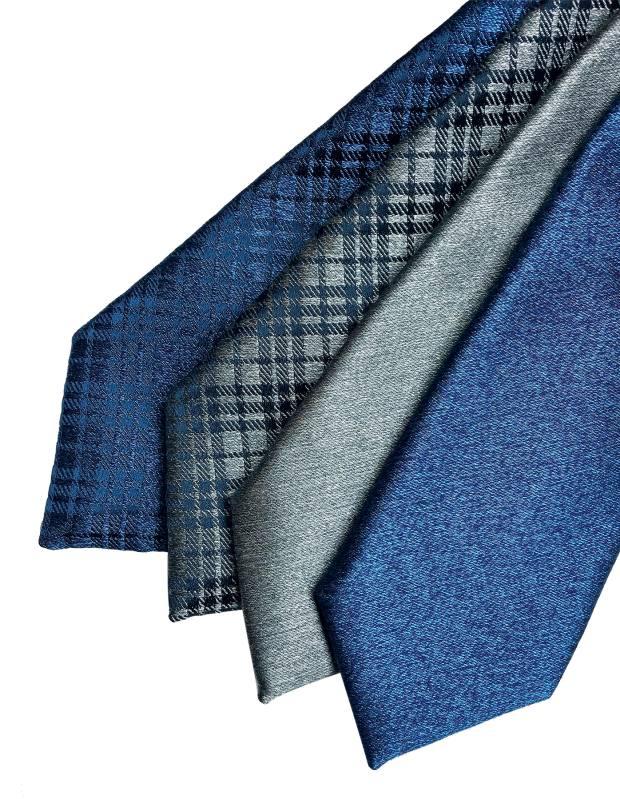 A selection of Charvet schappe silk/organzine silk ties, £165 each