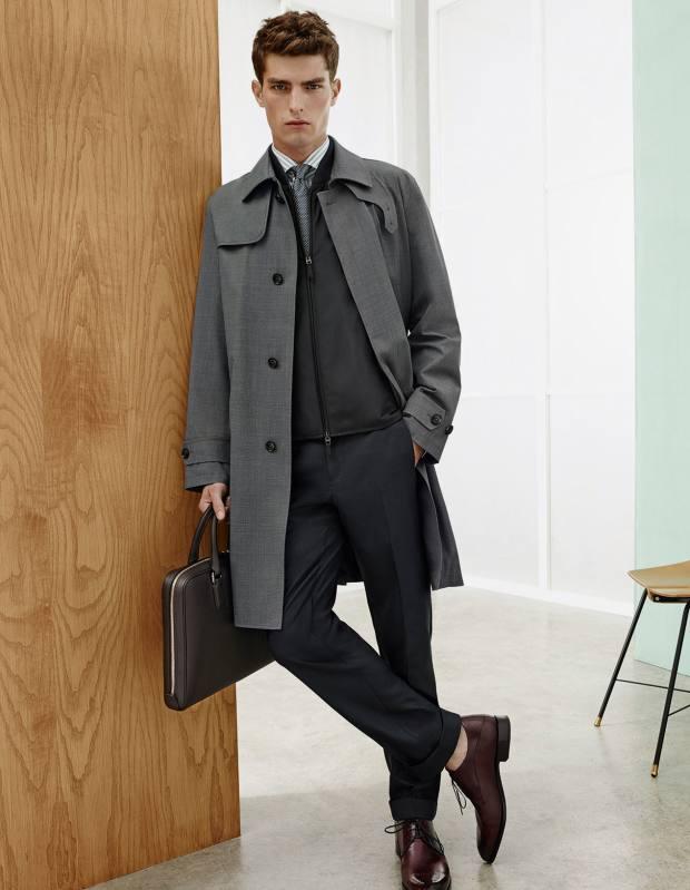 Ermenegildo Zegna wool trench coat, £1,890