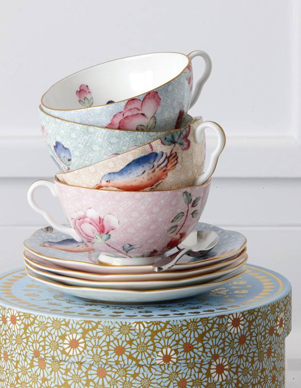 Wedgwood fine bone china Cuckoo tea ware, £35 for a cup and saucer