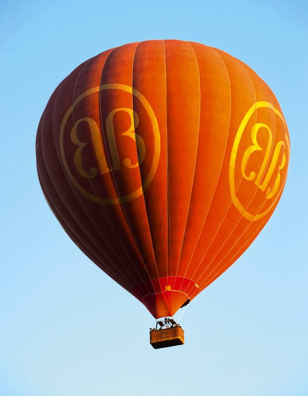 A Balloons Over Bagan hot air balloon