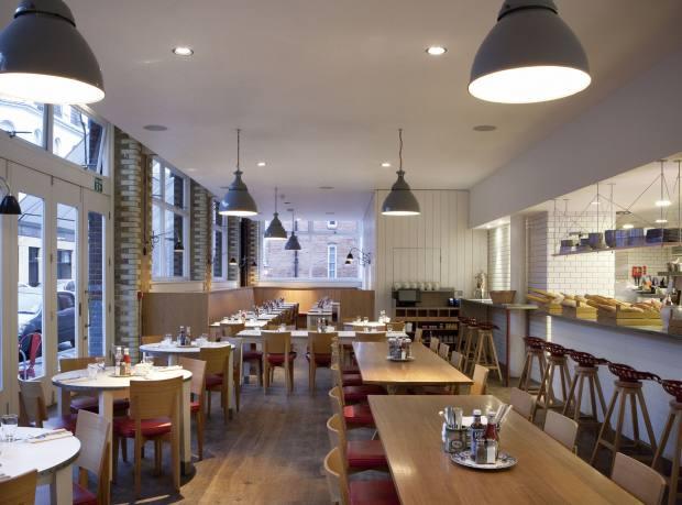 Albion café in Shoreditch, London