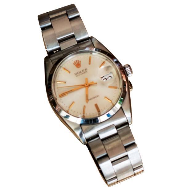 Schuman's vintage Rolex