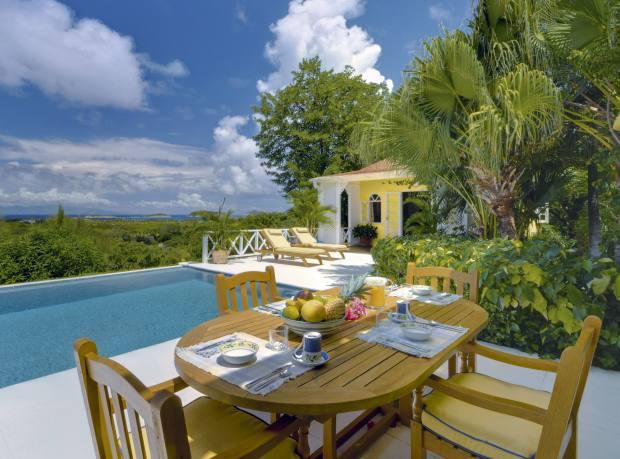 Messel's Yellowbird villa in Mustique