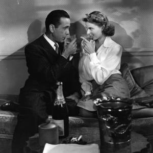 """Pour it again, Sam"": a scene from Casablanca"