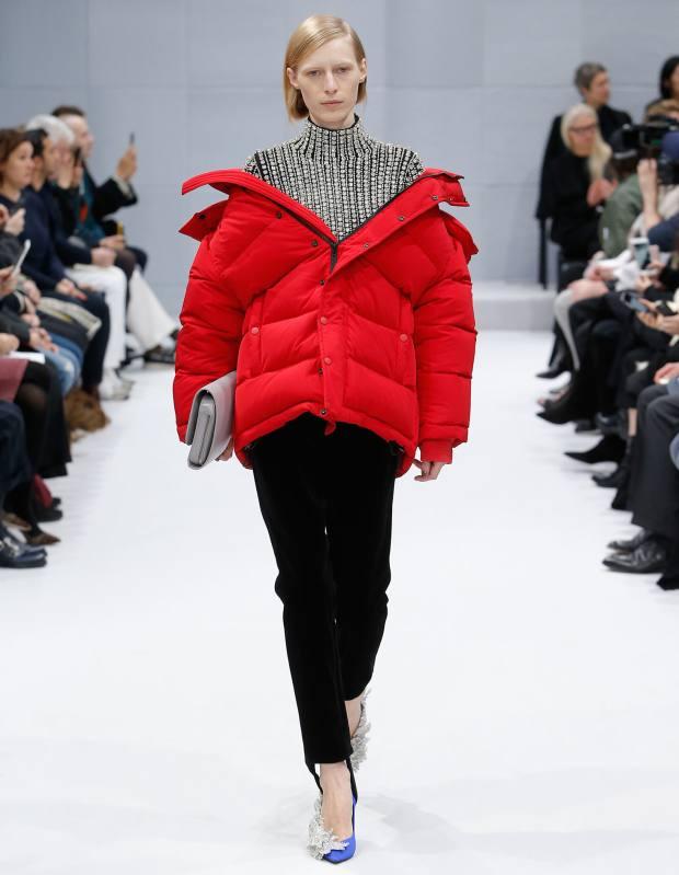 Balenciaga satin jacket, £1,915
