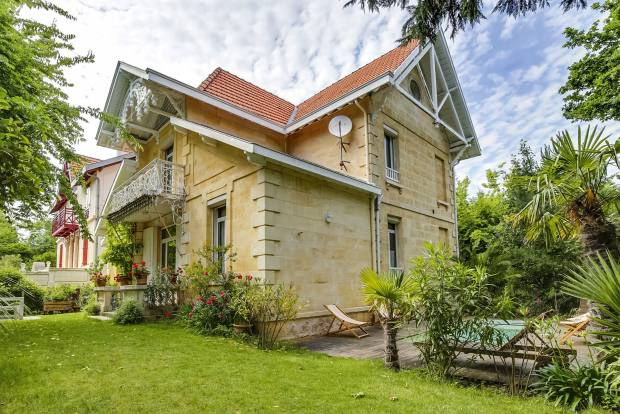 A 19th-century, six-bedroom house in Arcachon, £2.048m through Sotheby's International Realty