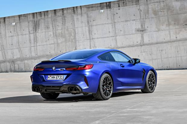 The M8 sprints from standstill to 60mph in just over three seconds and on to an electronically limited top speed of 155mph