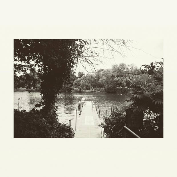 His Instagram post of the men's swimming pond on Hampstead Heath