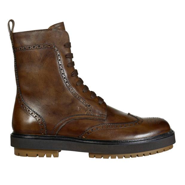 Tod's calfskin brogue boots, £550