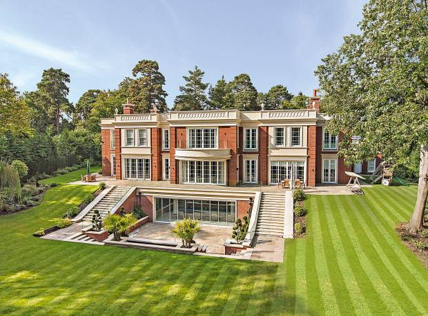 Highwood House, a six-bedroom mansion in St George's Hill, Surrey, £16m through Savills