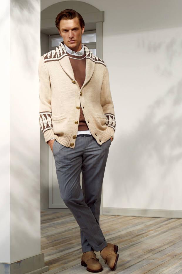 Brunello Cucinelli cotton cardigan, £1,020