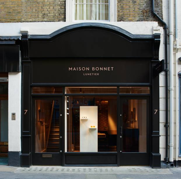The Maison Bonnet boutique and atelier in Mayfair
