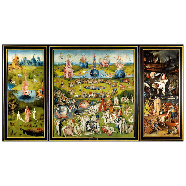 e86bf723f146 The Garden of Earthly Delights by Hieronymous Bosch
