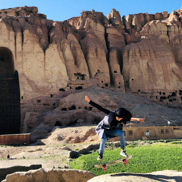 Skateistan supports 2,500 underprivileged children every week across its four schools in Afghanistan, Cambodia and South Africa, and is now preparing to construct a skatepark and school in the Afghan city of Bamyan