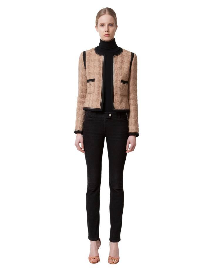 Chanel wool jacket, €1,200