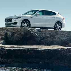 Maserati's first SUV, the Levante, from £70,755