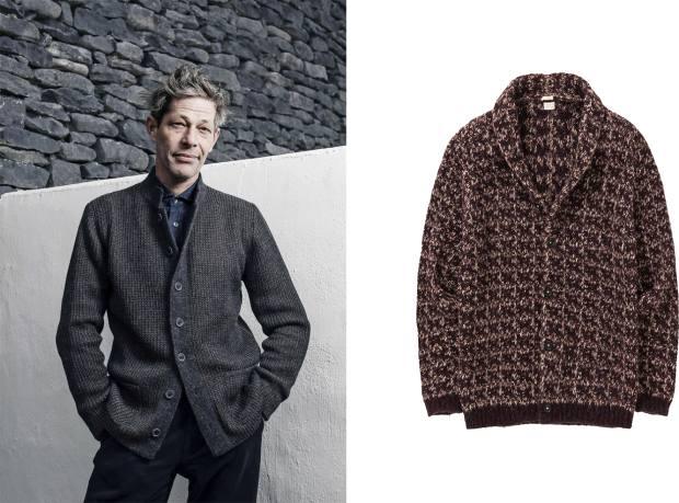 From left: Inis Meáin baby-alpaca/silk jacket, €540. Massimo Alba baby-Suri-alpaca Reinold jacket, £371