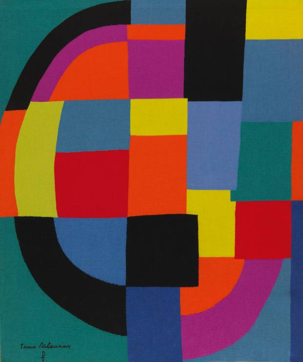 Equateur, c1970,by Sonia Delaunay, $65,000
