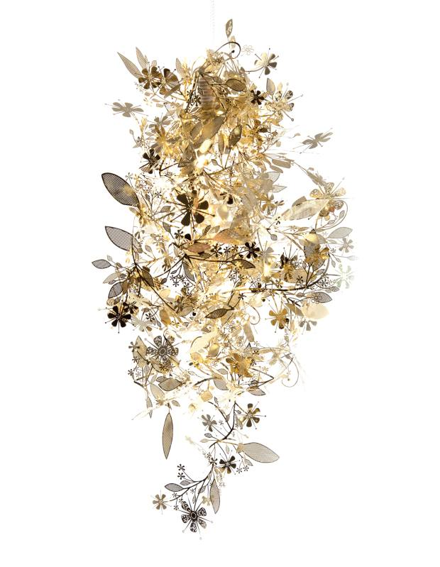 Tord Boontje acid-etched metal Garland chandelier, £20 from Tord Boontje Shop