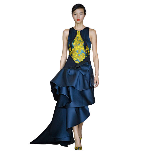 Antonio Berardi silk-mix gown, £4,250