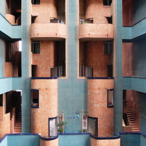 The Walden 7 building in Barcelona designed by Ricardo Bofill – featured in Modern Architecture and Interiors, Prestel, 4 June, £30