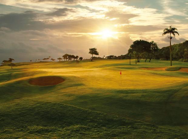 The Robert Trent Jones Sr-created golf course at Amanera