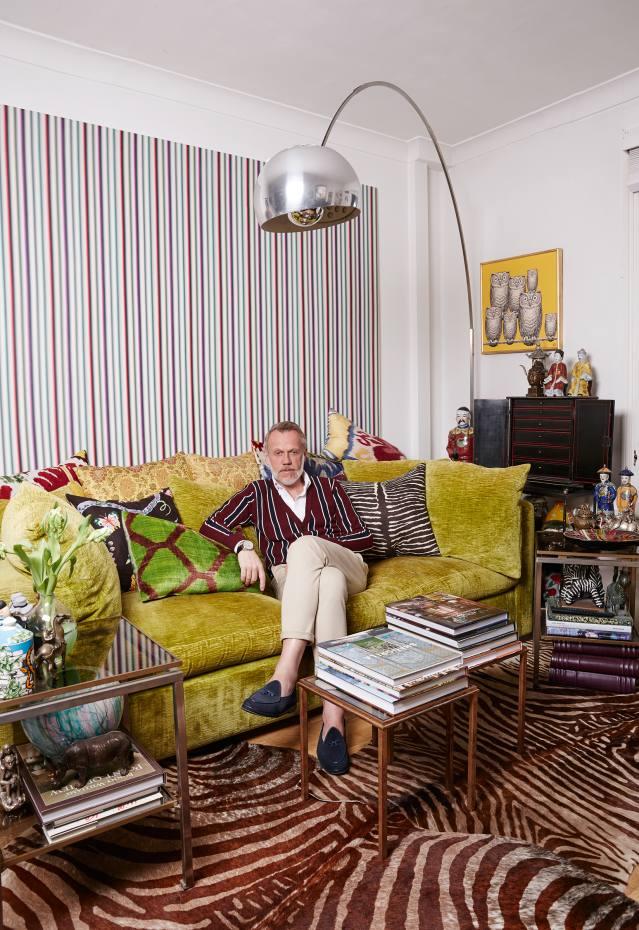 Hakan Rosenius at home in London
