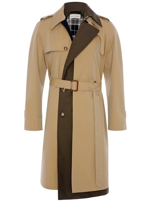 Alexander McQueen trench coat, £2,140