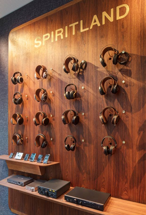 Spiritland also opened a dedicated headphone boutique in Mayfair