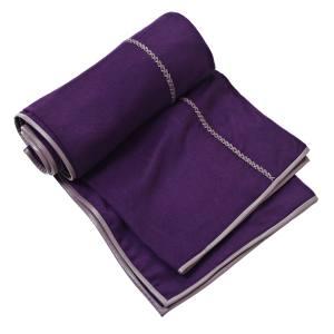 De Le Cuona Traveller blanket (240cm x 140cm) in cashmere with leather details, £1,500