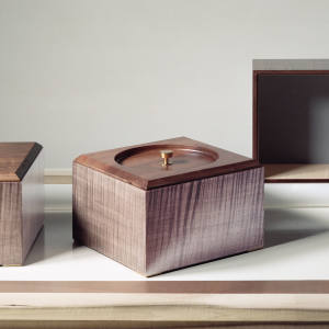 Wooden boxes from the Vanina Vanini range, from £445