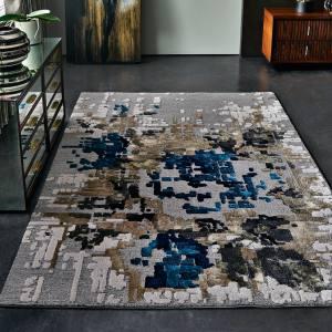 Stepevi wool/viscose Rose Cliff rug, £330 per sq m