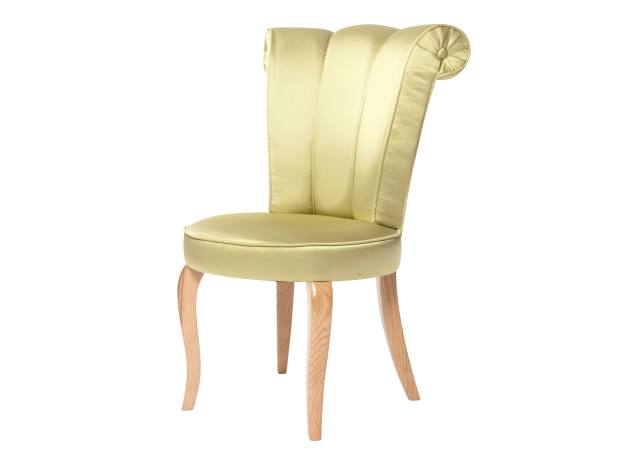 Les Trois Garçons satin and oak chair, £1,224