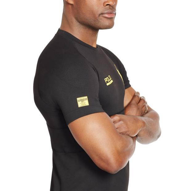 Ralph Lauren polyester/nylon/Spandex Polo Tech shirt, $295