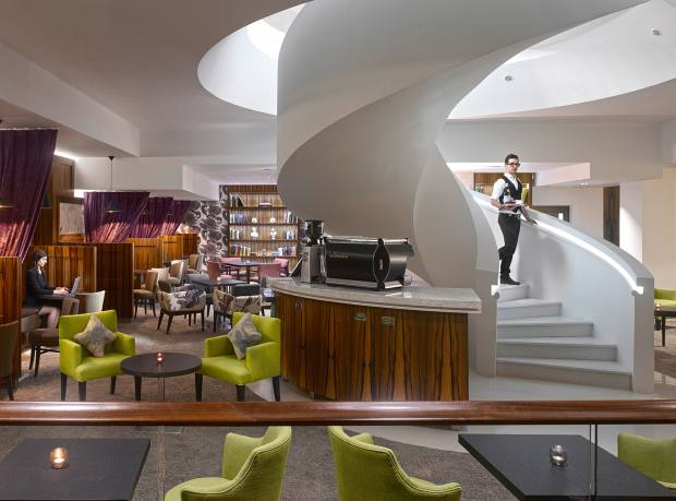 Kensington Pavilion's decor marked it out as the first high-end co-work offering in the UK