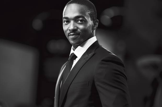 Seberg actor Anthony Mackie in Brioni