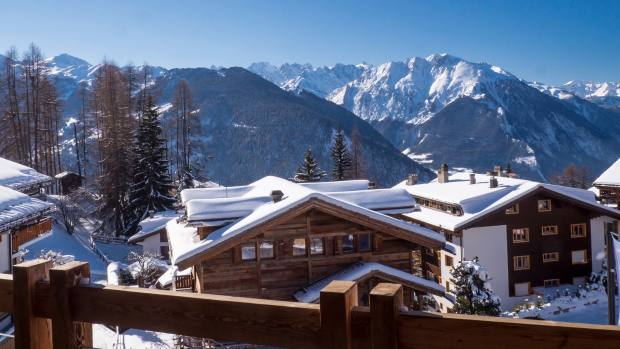 The Rosalp Residences in Verbier, about £9,999,000 through Savills