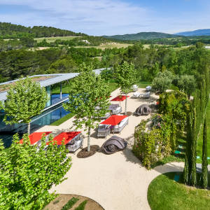 The grounds at Villa La Coste in Provence