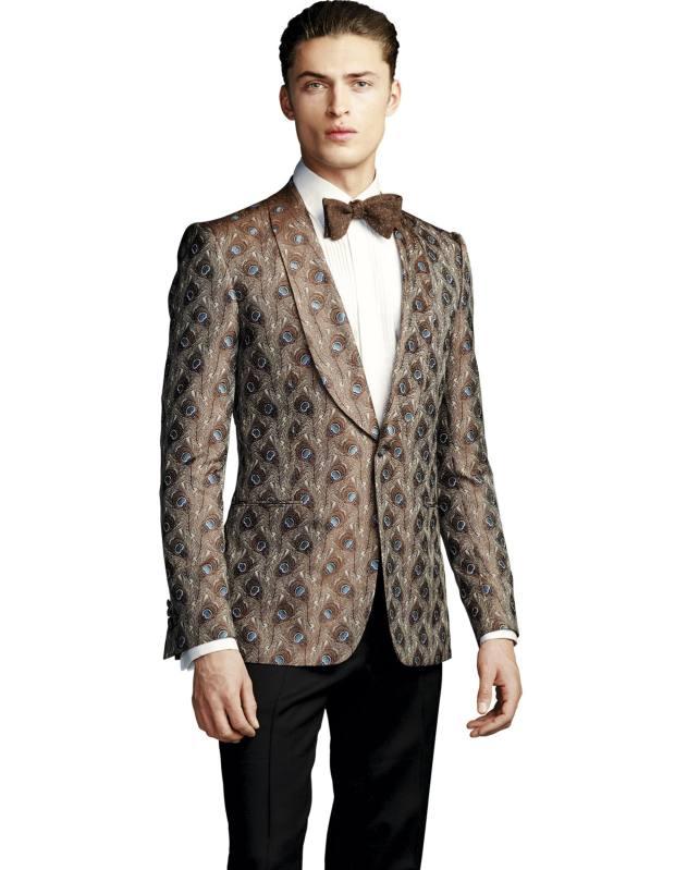 Gieves & Hawkes silk-jacquard evening jacket, £2,195