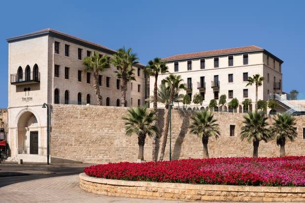 The Setai hotel in Jaffa was originally a Crusader fortress dating back to the 12th century