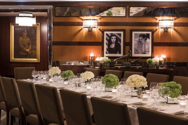 The Lotos Room at The Beaumont in Mayfair, where Jeremy King will host the Jimmy Beaumont dinner on May 4